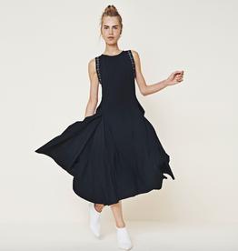 HIGH High Accentuate Dress-Navy