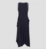 HIGH High Accentuate Dress-Navy