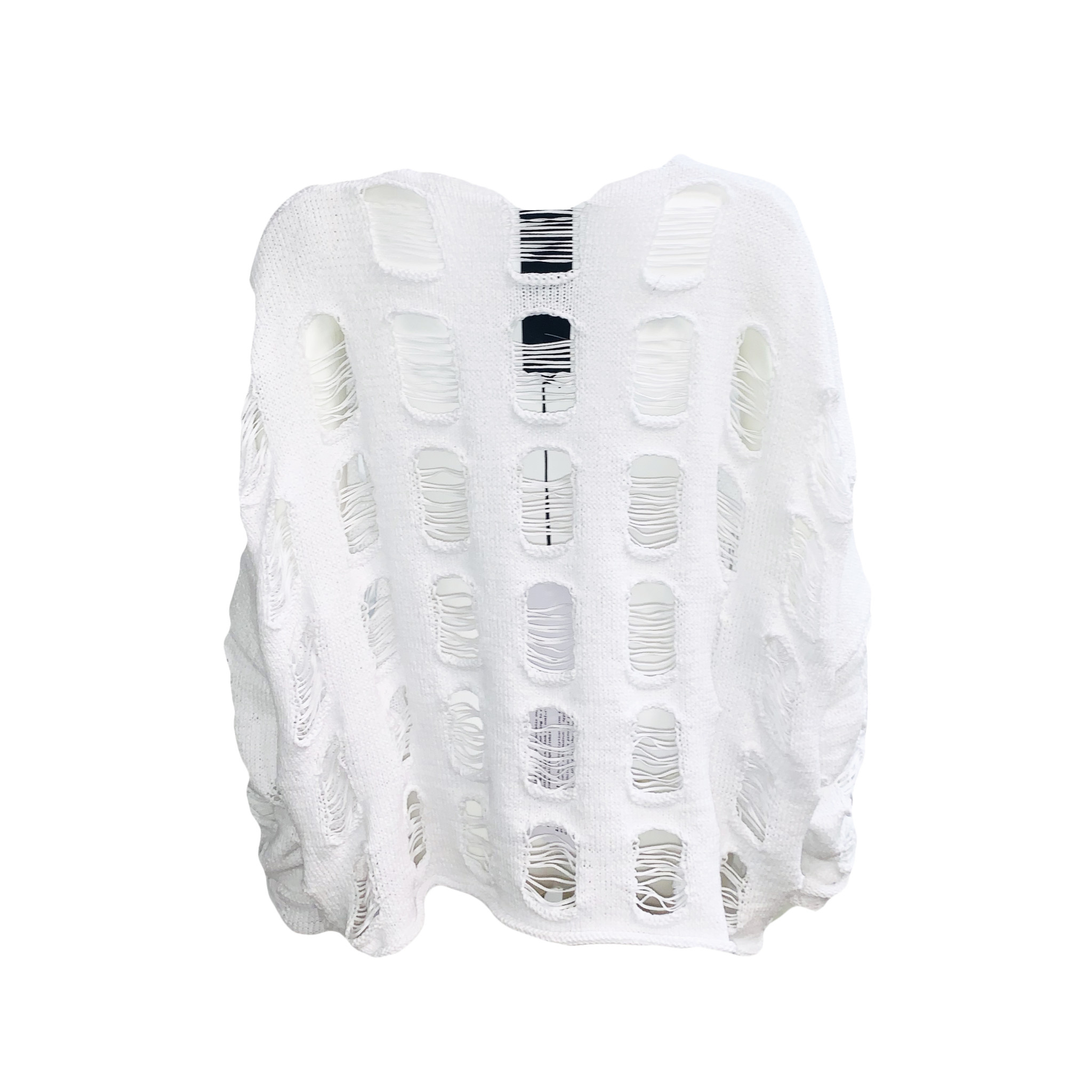 Studio Rundholz Studio Rundholz Distressed Sweater - White