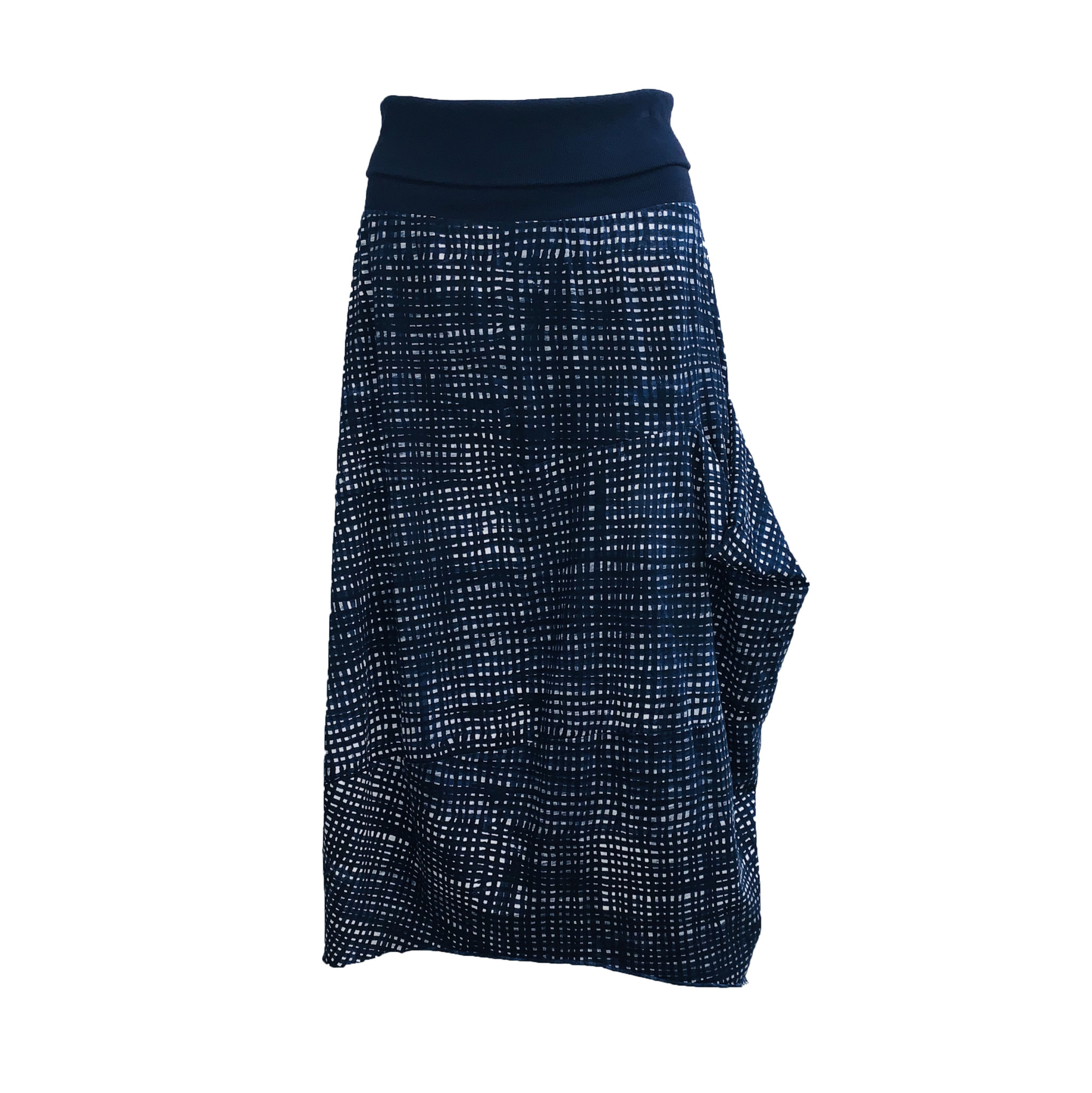 Studio Rundholz Studio Rundholz Rib Fabric Skirt - Martinique Print