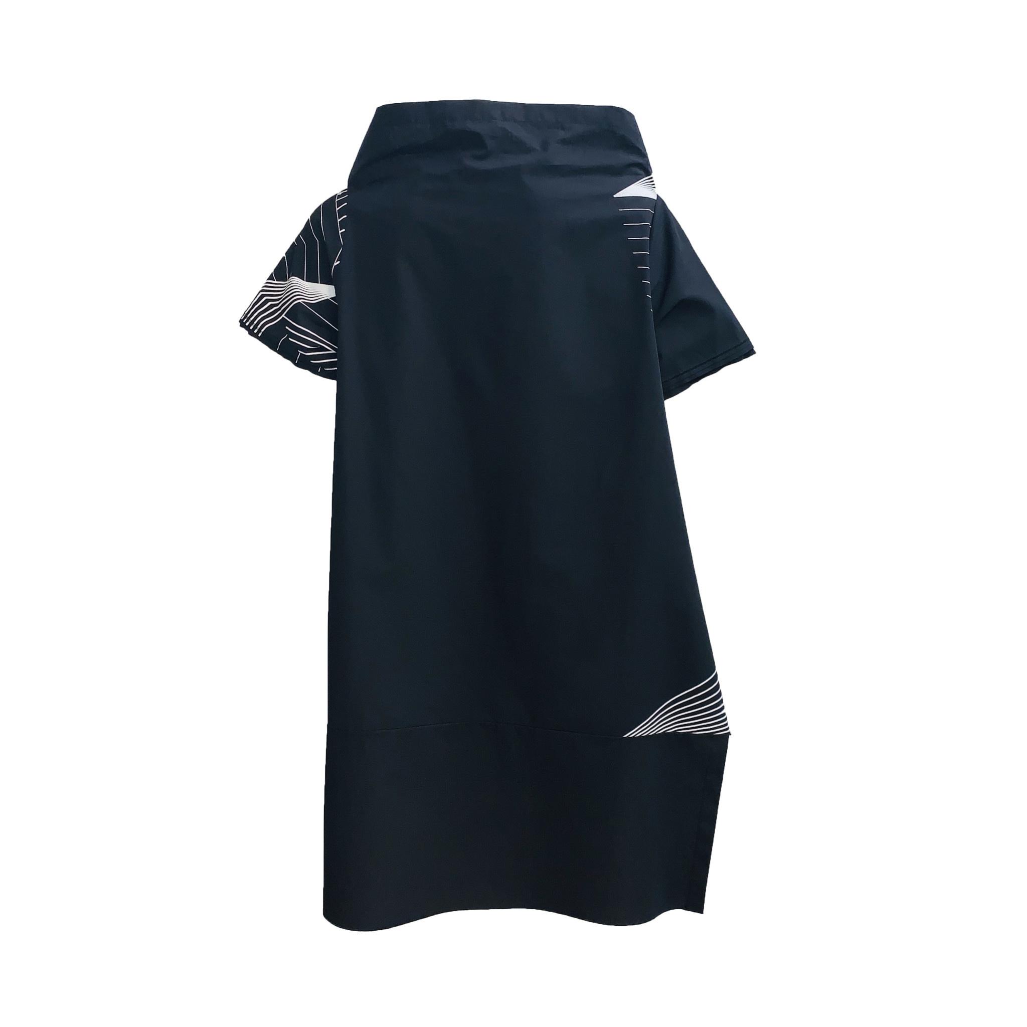 Xenia Xenia Obak Shirt- Black/White