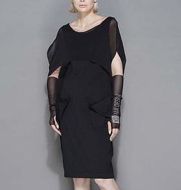 Xenia Xenia Borg Dress-Black