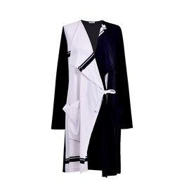 Alembika Tekbika Wrap Tie Jacket-Black