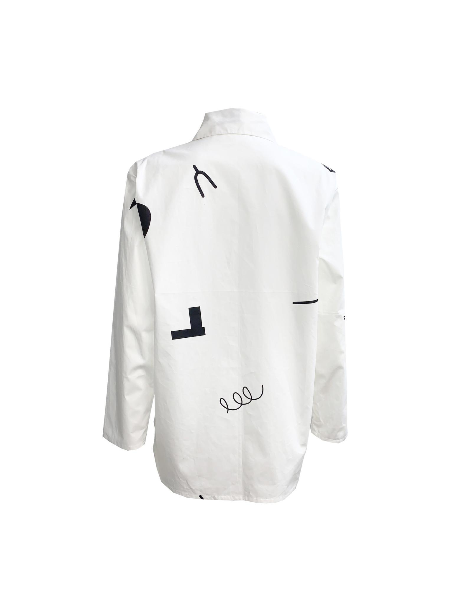 Xiaoyan Xiaoyan Line Shirt-White