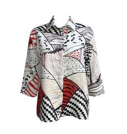 Xiaoyan Xiaoyan Geo Shirt-Multi