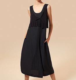 Crea Concept Crea Concept Knit Top Dress-Black