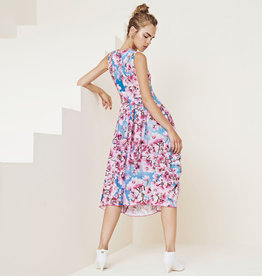 HIGH HIGH At-Length Dress - Pink/Blue