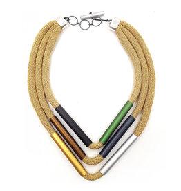 Christina Brampti Christina Brampti Herringbone Cord Necklace