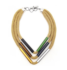 Christina Brampti Christina Brampti Herringbone Cord Necklace