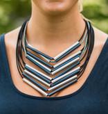 Christina Brampti Christina Brampti Asym Multi Strand Necklace