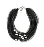 Christina Brampti Christina Brampti Multi Strand Mesh Necklace