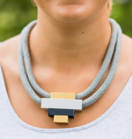 Christina Brampti Christina Brampti Stacked Bars Necklace