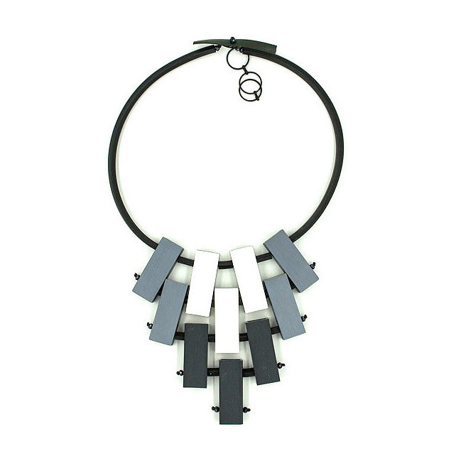 Christina Brampti Christina Brampti Staggered Bars Necklace