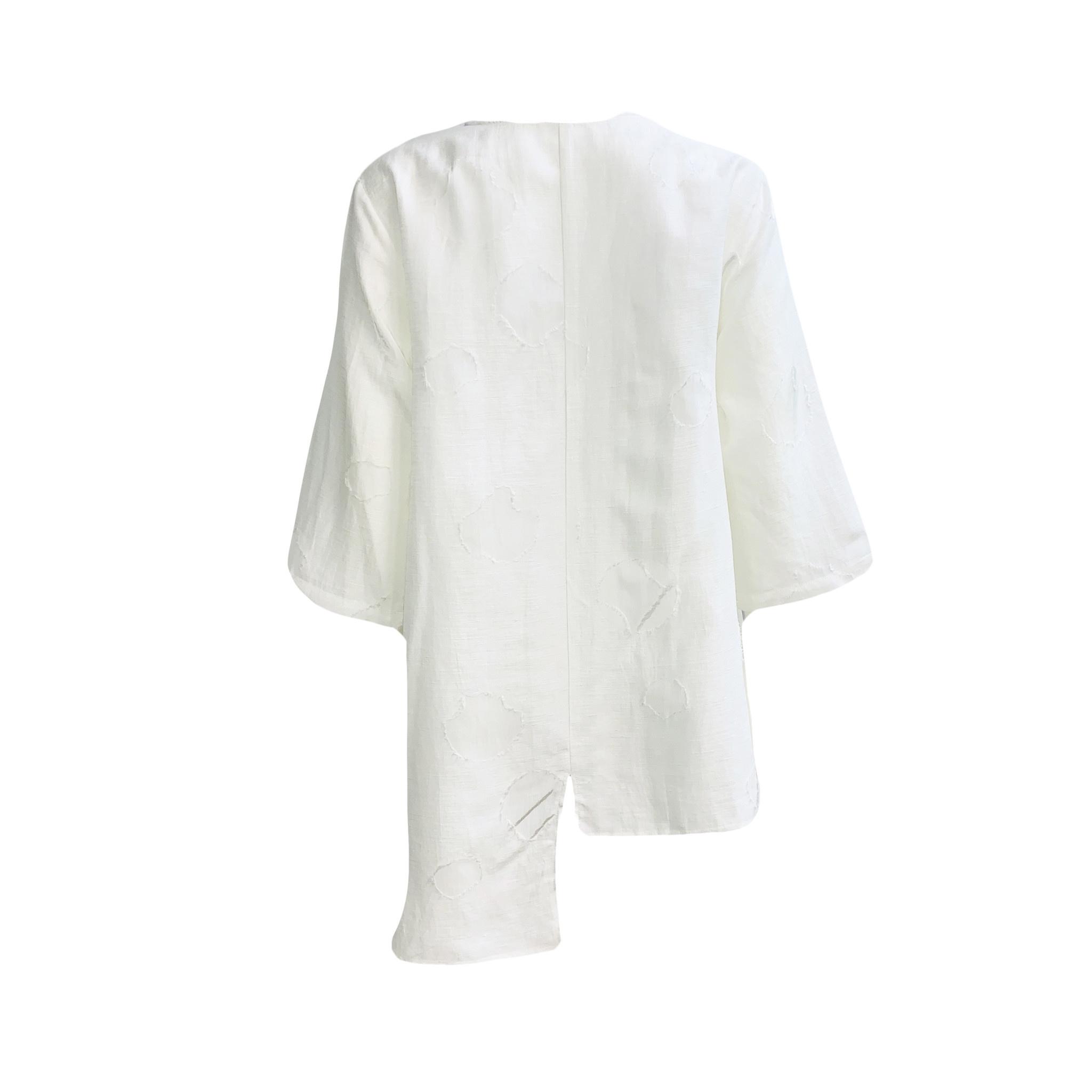 Yoshi Yoshi Yoshi Yoshi Long Shirt-Cream