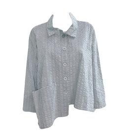 Dress To Kill Dress to Kill Bubble Stripe Shirt - Grey White