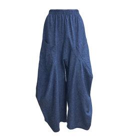 Dress To Kill Dress to Kill Brushed Linen Harem Pant - Blue