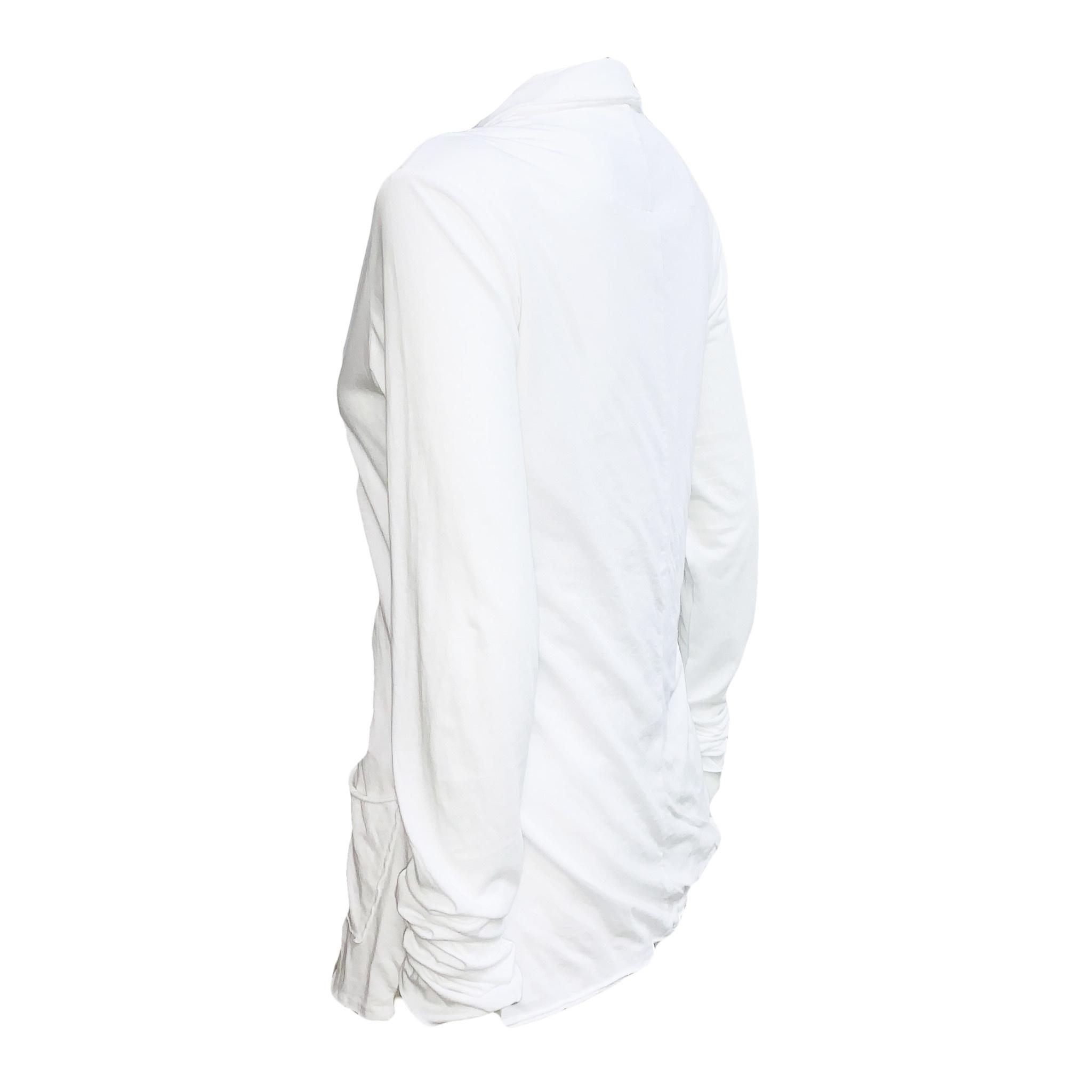 Studio Runholz Studio Rundholz Button Front Jacket-White