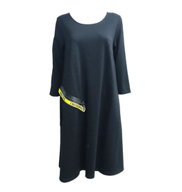 NY77 Design NY77 I Need Space Tunic - Black