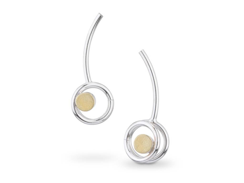 Elizabeth Garvin Circle Earrings
