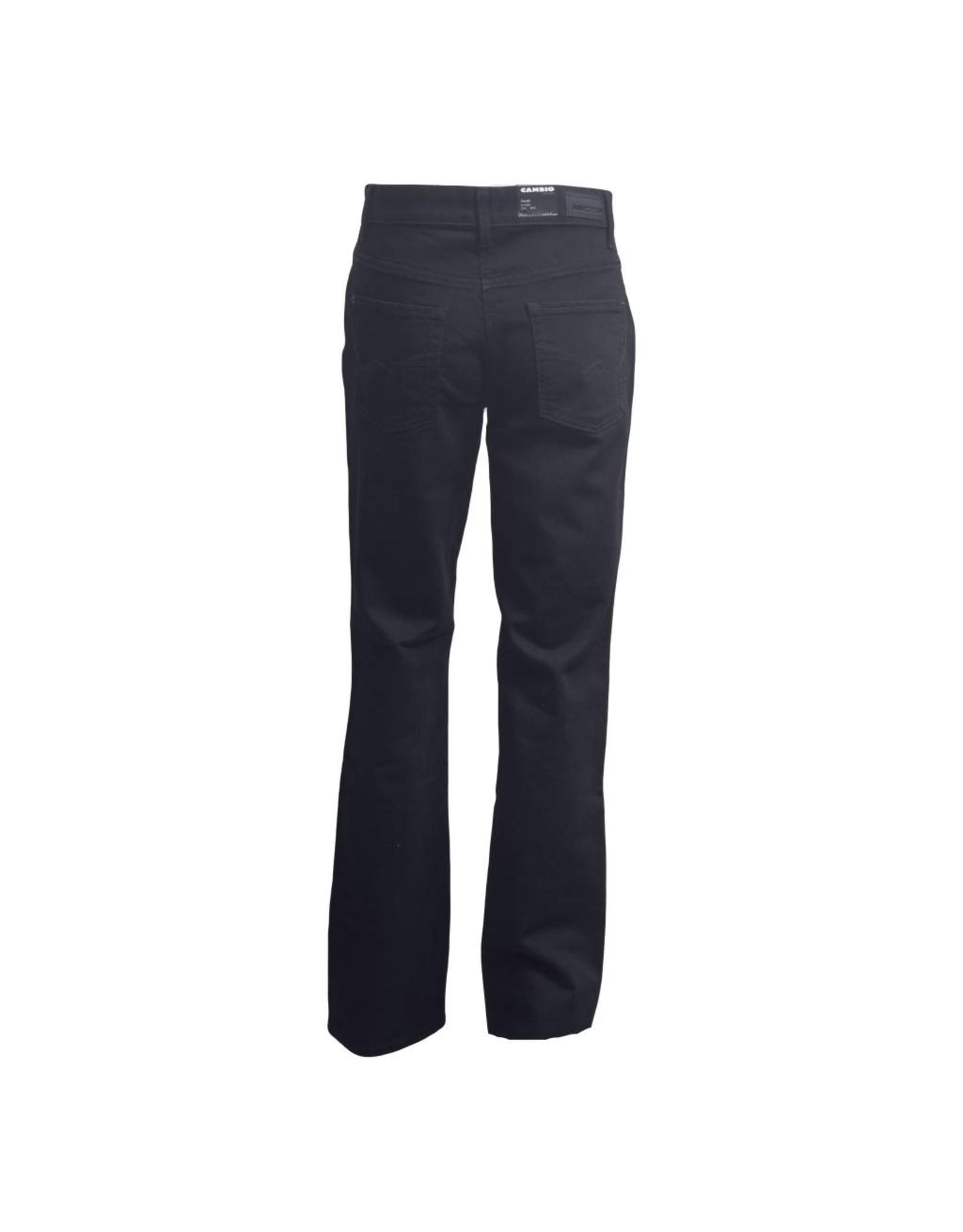 Cambio Cambio Norah Straight Jeans - Black