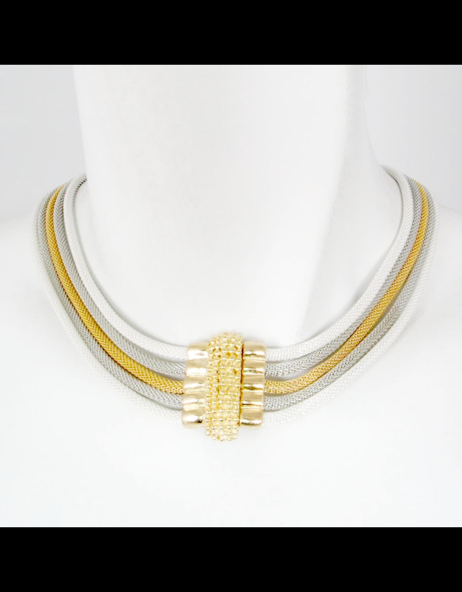 Erica Zap Design Erica Zap 5-Strand Magnetic Necklace