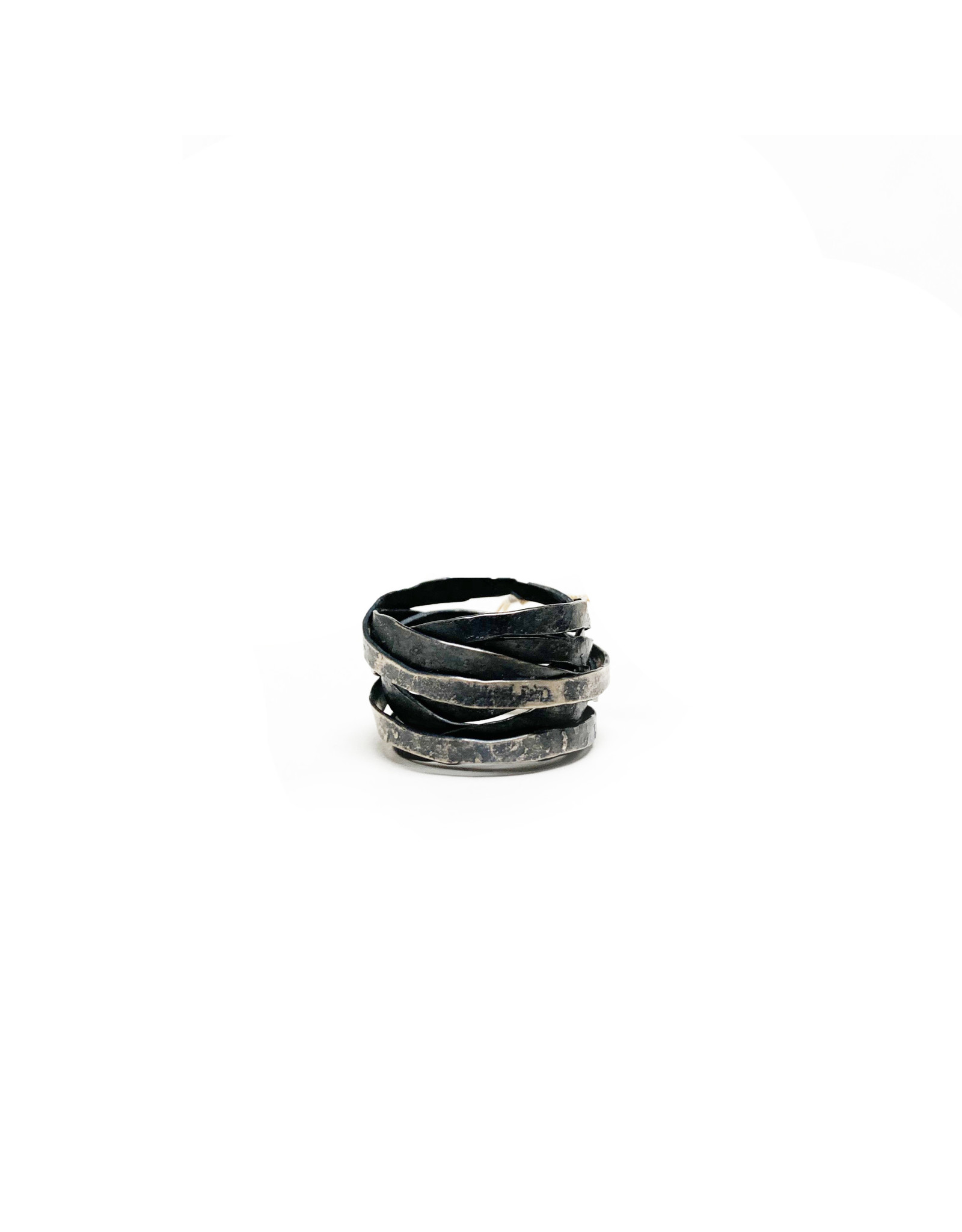 Bosco Jewelry Bosco Oxi Sterling Silver Wrap Ring - Oxidized Silver