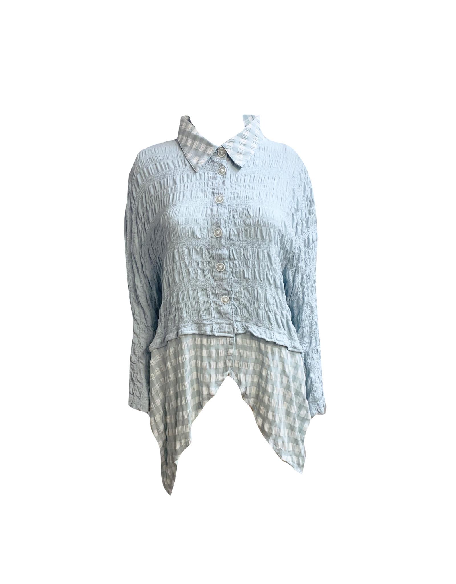 Dress To Kill Dress to Kill Scallop Shirt - One Size