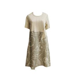 Yoshi Yoshi Yoshi Yoshi Wrap Dress - Cream