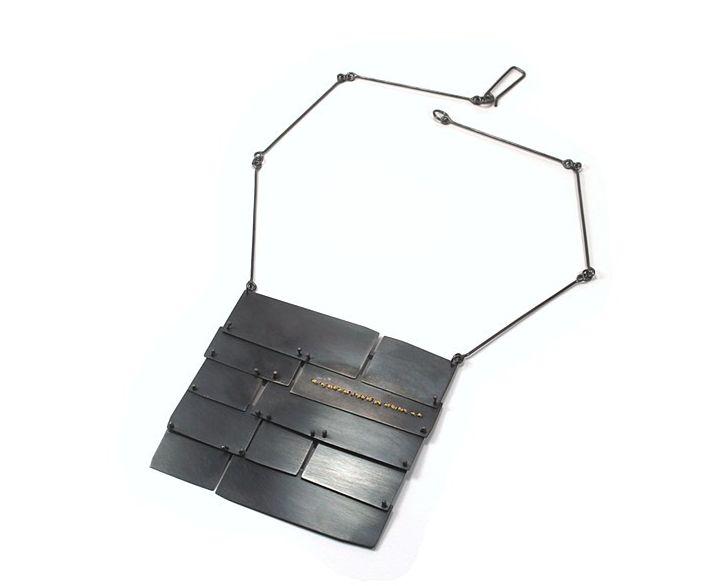 Lauren Markley Slate Roof Necklace