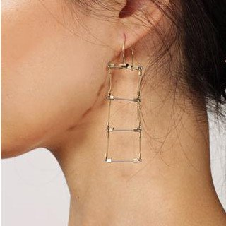 Meghan Patrice Riley Meghan Patrice Riley Ladder Hooks Earrings