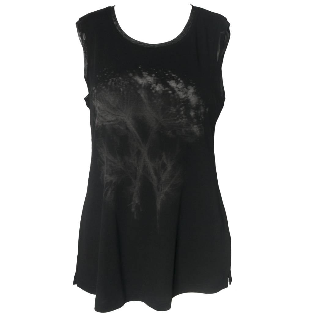 Yoshi Yoshi Yoshi Yoshi Sleeveless Print Sweater - Black