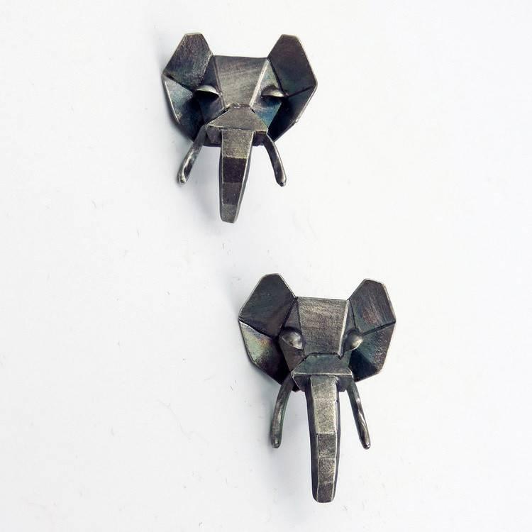 Seth Michael Studio Elephant Earrings