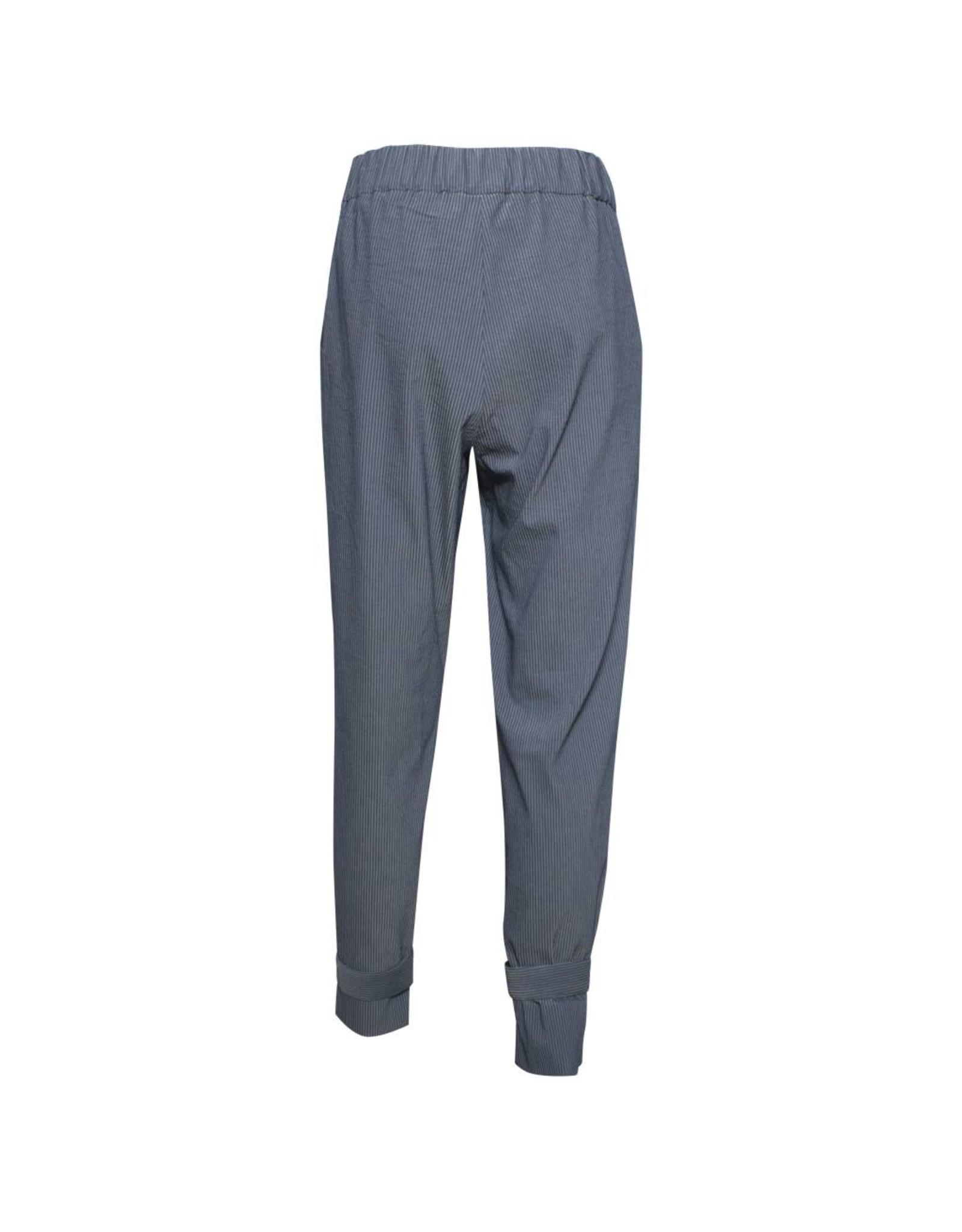 Crea Concept Crea Concept Snap Bottom Pants - Stripe