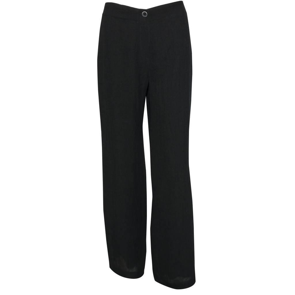 Crea Concept Crea Concept Linen Pants - Black