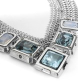 Fahrenheit Fahrenheit Mesh Collar Necklace