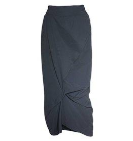 Porto Porto Napolean Skirt - Black Mini Stripe