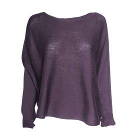 Matthildur Matthildur Pima Sweater - Mulberry