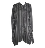 Matthildur Matthildur Tailor Stripe Dress - Charcoal