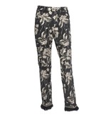 Cambio Cambio Famous Feather Crop Pants - Champagne Floral