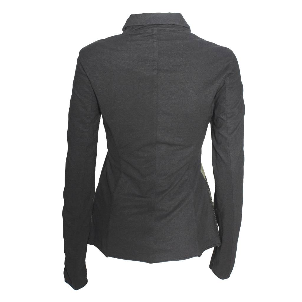 Studio Rundholz Studio Rundholz Button Front Jacket - Vert Print