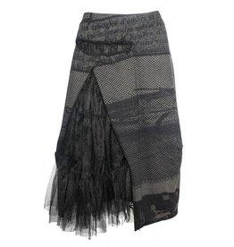 Studio Rundholz Studio Rundholz Tule Side Skirt - Mocca Print