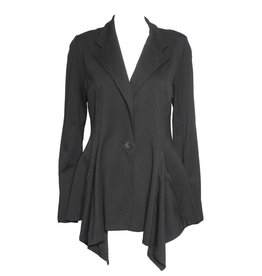 Alembika Alembika One Button Short Jacket - Black