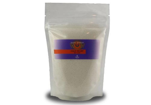 Pure Potent Wow Cold Relief Bath Salt Pack 300g