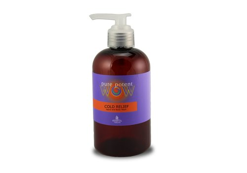 Pure Potent Wow Cold Relief Hand and Body Wash 250ml