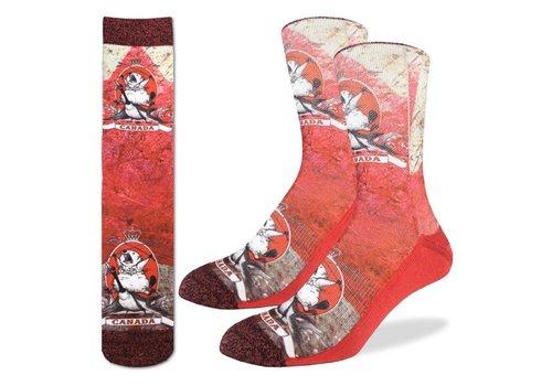 Good Luck Sock Men's Majestic Canadian Beaver Socks