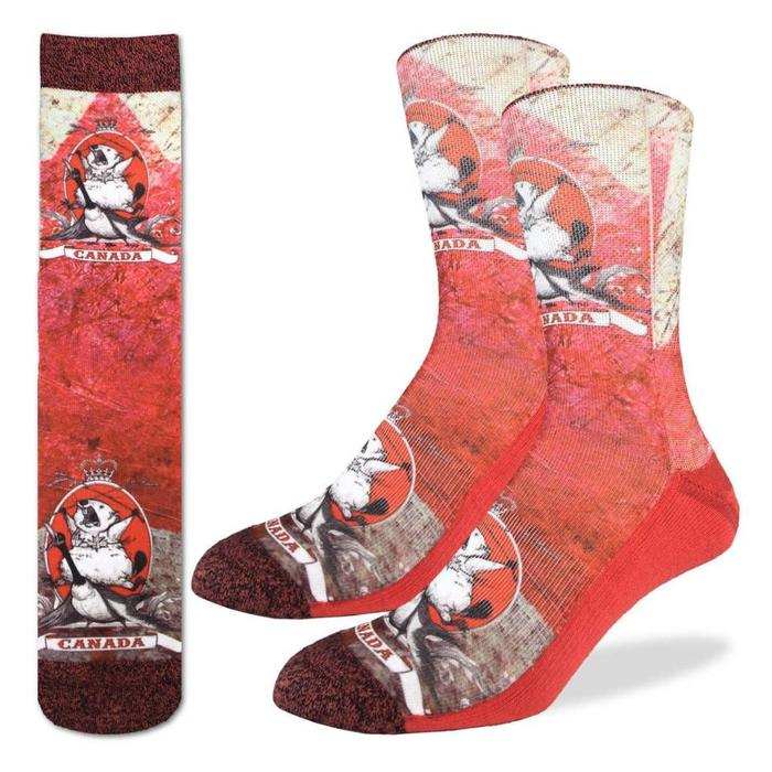 Men's Majestic Canadian Beaver Socks