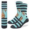 Good Luck Sock Men's Giraffe Socks