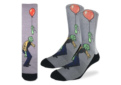 Good Luck Sock Men's Sad Zombie Socks
