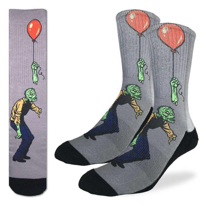 Men's Sad Zombie Socks