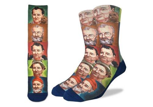 Good Luck Sock Men's Bill Murray Socks